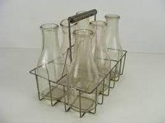 Resultado de imagen para vintage packaging milk bottles