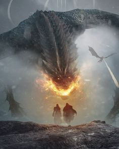 Image may contain: mountain, nature and outdoor Game Of Thrones Artwork, Game Of Thrones Facts, Game Of Thrones Dragons, Fantasy Creatures, Mythical Creatures, Dragon Anatomy, Dragon Cave, Types Of Dragons, Dragon Artwork