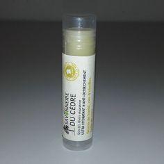 Stick à lèvres 100% Naturel au Karité et à la cire d'abeilles