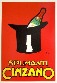 Maga Mauzan / Jean-Pierre Otth - Cinzano Spumanti / Vermouth - ca. 1960 - W.B.