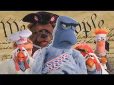 Muppets Stars & Stripes Forever with the Preamble... must show kids in September! :)