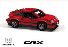 Lego Honda CRX