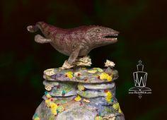 Mosasaur Cake by Akiko White