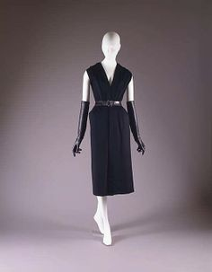 Ensemble (circa 1949-51) from House of Dior; The Metropolitan Museum of Art; Gift of Mrs. Byron C. Foy, 1953.