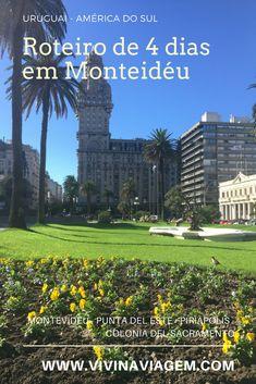 O Uruguai foi uma grata surpresa para nós! Nunca tínhamos pensado em conhecer o país, mas como sobraram 4 dias de férias e queríamos conhecer outro país em pouco tempo, então decidimos visitar o Uruguai. Fizemos um Roteiro de 4 dias em Montevidéu passando por Punta del Este, Piriápolis e Colonia del Sacramento.  #montevideo #uruguai