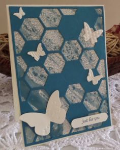 Stampin' Up! Hexagon Hive Thinlit