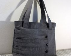 Customizable Ruffled Flap Handbag with Buttons by WhitneyJude