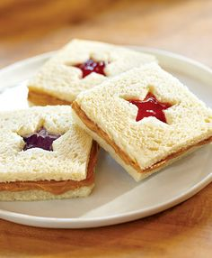 Creative school lunches don't have to be hard. All you need for these adorable PB&J Sandwich Cut-Outs is a 1-inch star-shaped cookie cutter. Check out the recipe and get supplies for more cute school lunches at Walmart.com.