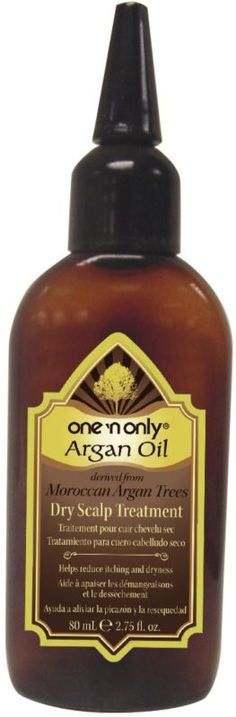One 'n Only is effectively formulated to help combat dry scalp. Essential nutrients and argan oil help reduce dryness while protecting and nourishing. Promotes healthy, manageable hair..