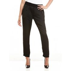 Mela Purdie Soft Zip Pants - Mousseline Take a relaxed approach to office tailoring with these stylish pants. Featuring zip pocket detail and a flattering tapered leg, work yours with a smart blazer and portfolio clutch. #melapurdie  #redworks