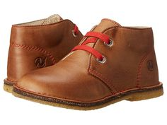 Naturino Nat. 4528 SP15 (Toddler/Little Kid/Big Kid) Cognac/Red Lace - Zappos.com Free Shipping BOTH Ways