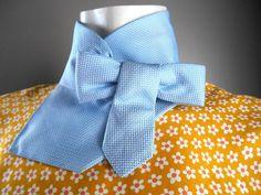 Collar de corbata de mujer cuello corbata corbata por CuchiDesigns