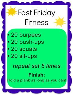 Killer 15-20 minute workout