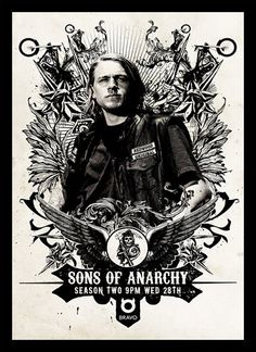 Quadro Poster Series Sons of Anarchy 10 - Decor10