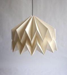 ISADORA Pantalla de papel inspiración origami por CutandFoldDesign