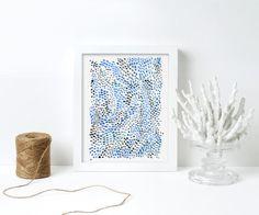Blue Dot Watercolour Print, Abstract Art Print, Blue Art, Abstract Art, Minimalist Art, Modern Art, Gallery Wall, Colourful Art, Giclee Abstract Watercolor, Abstract Art, Modern Art, Contemporary Art, Colourful Art, Blue Art, Minimalist Art, Watercolours, Giclee Print