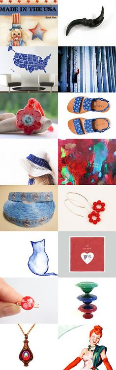 Made In Usa  by Elinor Levin on Etsy--Pinned with TreasuryPin.com