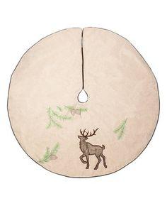 Midwest-CBK  /Look at this #zulilyfind! Deer Tree  Skirt
