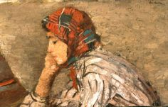 Ştefan Luchian (1 februarie 1868, Ştefăneşti, Botoşani – 28 iunie 1916, Bucureşti), pictor român   G a b i, My heart to your heart Art Addiction, Thing 1, Art Database, Art Images, Art Nouveau, Woman, 1 Februarie, Paintings, Matisse