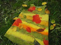 Валяный детский сарафанчик «Листопад». Ярмарка Мастеров - ручная работа, handmade.