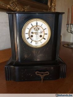 Gebruikt: Antieke klok (Klokken & Barometers) - Te koop in Hemiksem