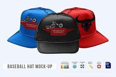 Baseball Hat Mock-up by Mock-up Store on @creativemarket