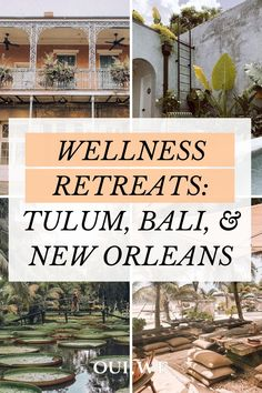 World Travel Guide, Travel Guides, Luxury Spa, Luxury Resorts, Retreat Ideas, Tulum Mexico, Spiritual Development, Beautiful Hotels, Famous Places