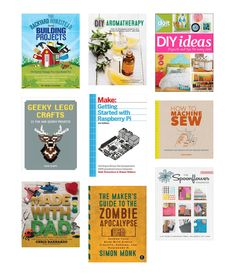 Annie Wanders the Stacks - Maker Collection by AnnieELPL : Do you like to be creative? Do you sometimes need a hint of inspiration? Here's a list of some great books that are hiding in our Maker Collection. Browse through and see what jumps out at you!