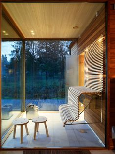 Gorgeous Coolest Home Sauna Design Ideas Saunas, Interior Architecture, Interior And Exterior, Interior Design, Sauna Kits, Portable Sauna, Sauna Design, Sauna Room, Spa Rooms