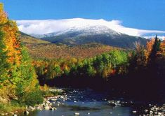 One of the most peaceful places I've visited. It's beautiful year-round, too. {White Mountains, New Hampshire}