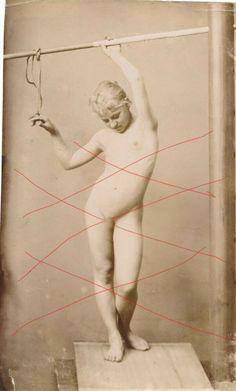 Vintage Photo Albumin Maiden Girl Malstudie Kunst Modell Portrait  um 1890