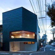 Sakuragawa Small Urban House Design