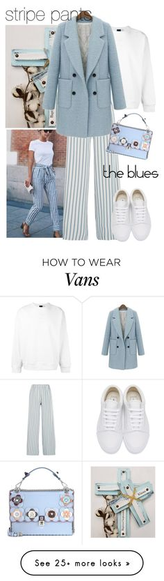 """Untitled #1299"" by theworldisatourfeet on Polyvore featuring adidas, Paul & Joe, WithChic, Fendi and Vans"