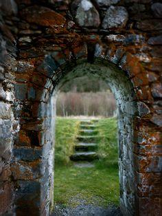 St Saviour's Priory, Romanesque Church, Glendalough, Wicklow, Ireland