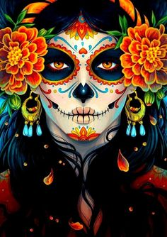 mexican-sugar-skull-celebrate-day-of-the-dead