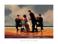 Elegy for a Dead Admiral Print by Jack Vettriano at Art.co.uk