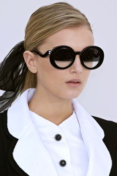 Love these sunglasses! Chanel SS 07