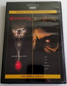 Wishmaster/Wishmaster 2 (DVD, 1999, 2-Disc Set)