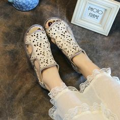 Cheap women shoes summer, Buy Quality shoes summer directly from China sandals handmade Suppliers: Designer Women Sandals Beige Lady Hollow Out Sandal Handmade Women Shoes Summer Casual Genuine Leather Shoe Low Heel Soft Bottom