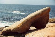 Pedra de abalar. Muxia. A Coruña. Galicia. Spain.