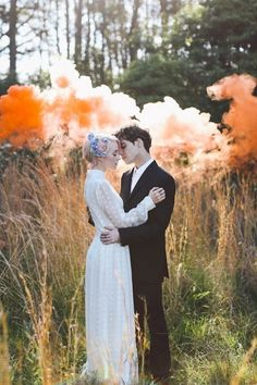 Must Have Shot (just more examples of the smoke bombs. I like how they're kind of hidden behind the bushes)