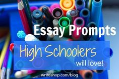 """I can't imagine my students loving any prompt, but they probably would like the $10,000 idea.  She says to check back on """"Writing Prompt Wednesdays"""" for more ideas."""