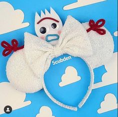 result for forky mickey ears result for forky mickey ears Disney Minnie Mouse Ears, Diy Disney Ears, Disney Bows, Disney Hair, Mickey Ears Diy, Disney Ears Headband, Disney Headbands, Photos Folles, Disneyland Ears