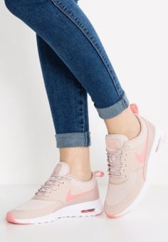 Nike Sportswear - AIR MAX THEA - Baskets basses - pink oxford/bright melon/white