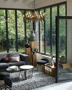 Belle # - Home Decoration Interior Architecture, Interior And Exterior, Interior Design, Interior Windows, House Extensions, Home And Living, Cozy Living, My Dream Home, House Plans