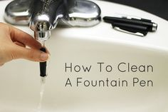 How to Clean a Fountain Pen - JetPens.com