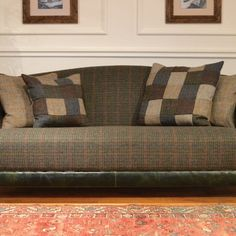 Lovely Harris tweed sofa