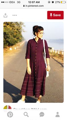The ensemble story Purple kalidaar dress with yellow stichlines. A silhouette, shin-length brunch straight out the atelier. The designer story Silāi Studio Kurta Designs Women, Salwar Designs, Blouse Designs, Dress Designs, Indian Attire, Indian Outfits, Party Wear Indian Dresses, Stil Inspiration, Summer Dresses Online