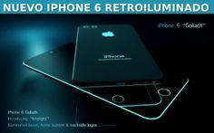 Nuevo iPhone 6 al estilo Tron con diseño nocturno #iPhone6