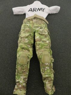 ACTION FIGURE 1/6 Soldier Story US Army SF FAMCON: Multicam Pants